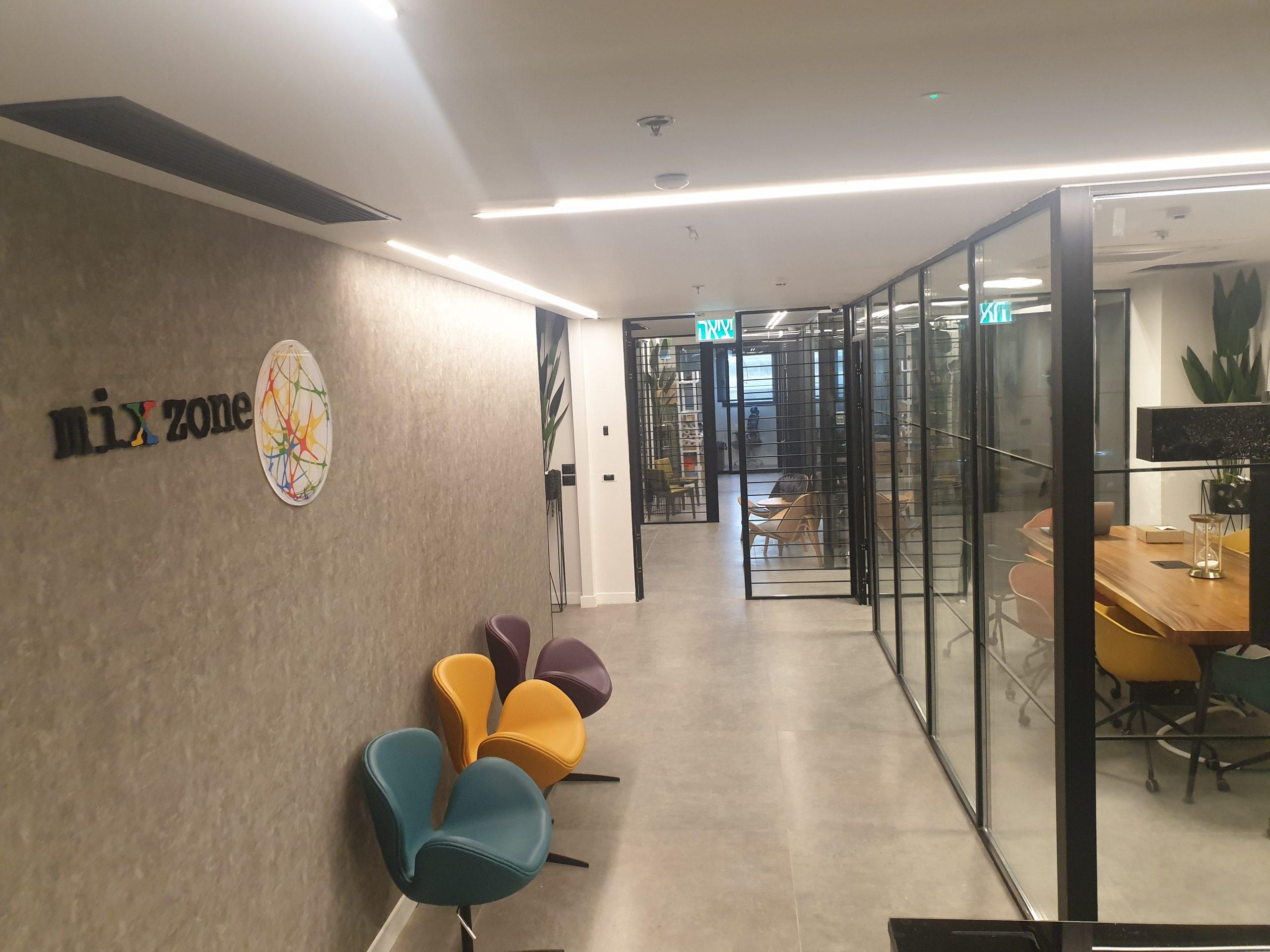 משרדים משותפים להשכרה MIXZONE